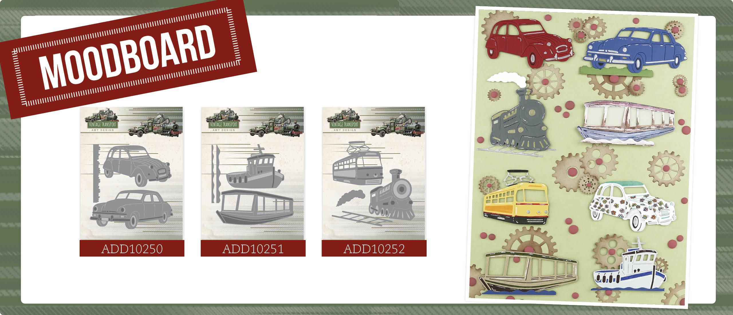 Moodboard Vintage Transport - Amy Design