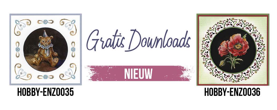 Gratis downloads: Borduurkaarten & Hobbydotskaarten