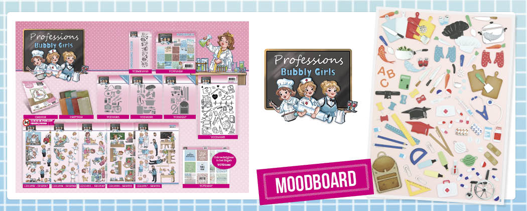 Moodboard Professions - Bubbly Girls