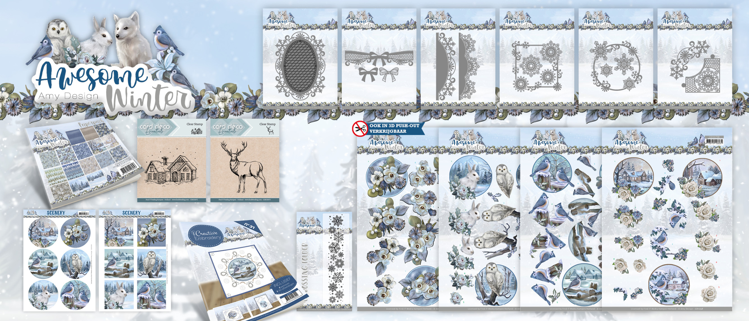 Awesome Winter -  Amy Design