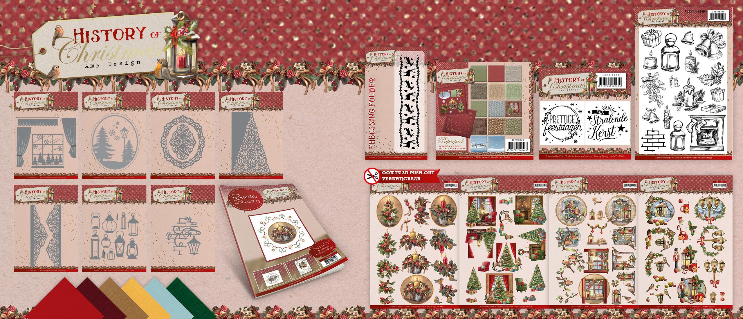 History of Christmas - Amy Design