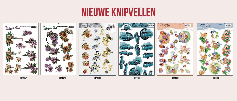 Nieuwe knipvellen: Jeanine's Art - Precious Marieke - Yvonne Creations - Yvon's Art