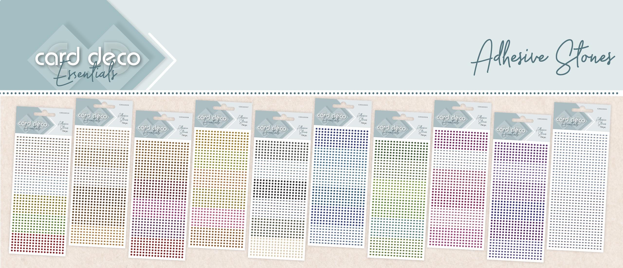 New: Card Deco Essentials Adhesive Stones
