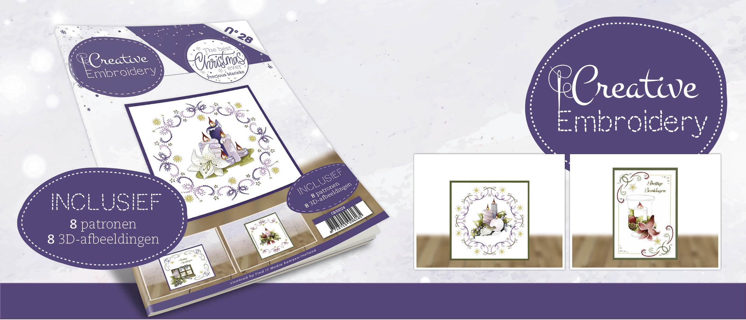 Creative Embroidery 28 - Precious Marieke- The Best Christmas Ever
