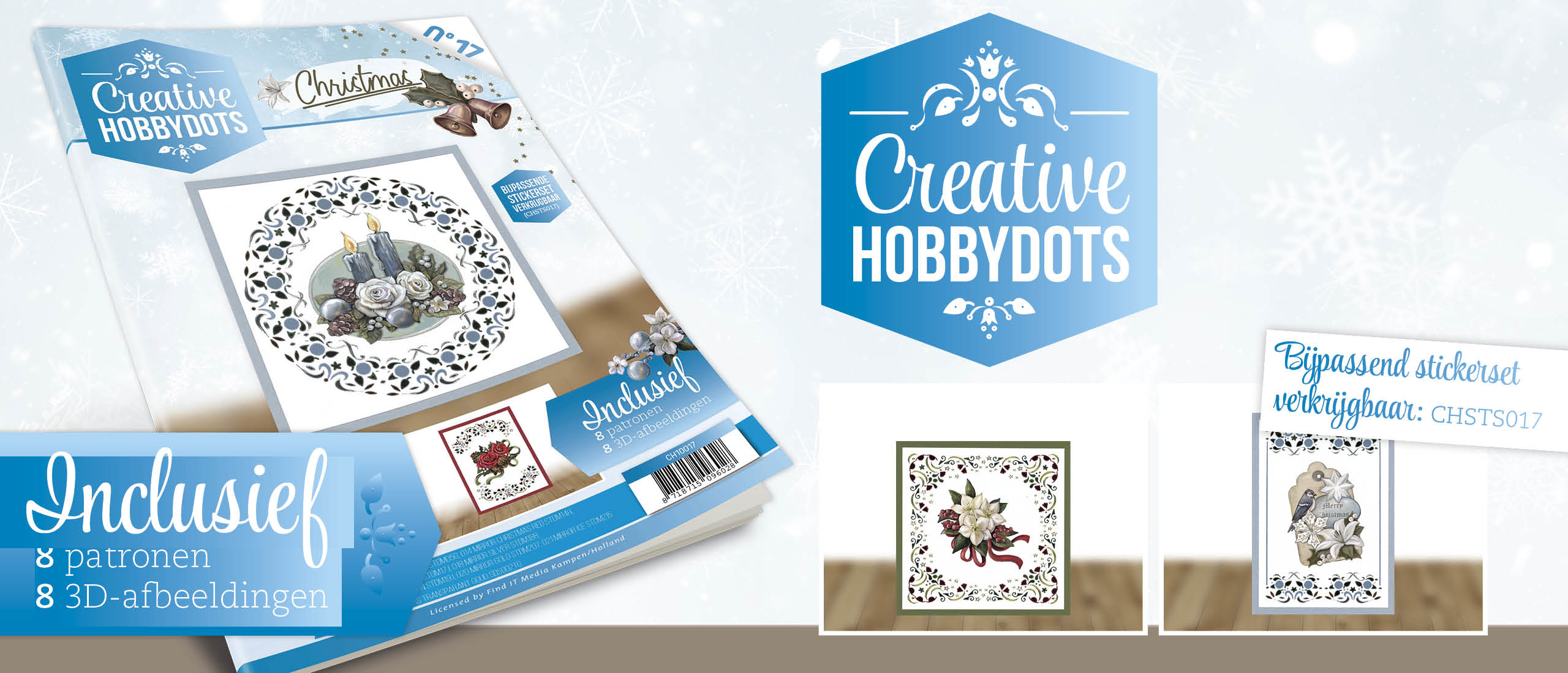 Creative Hobbydots 17 + Stickerset Christmas