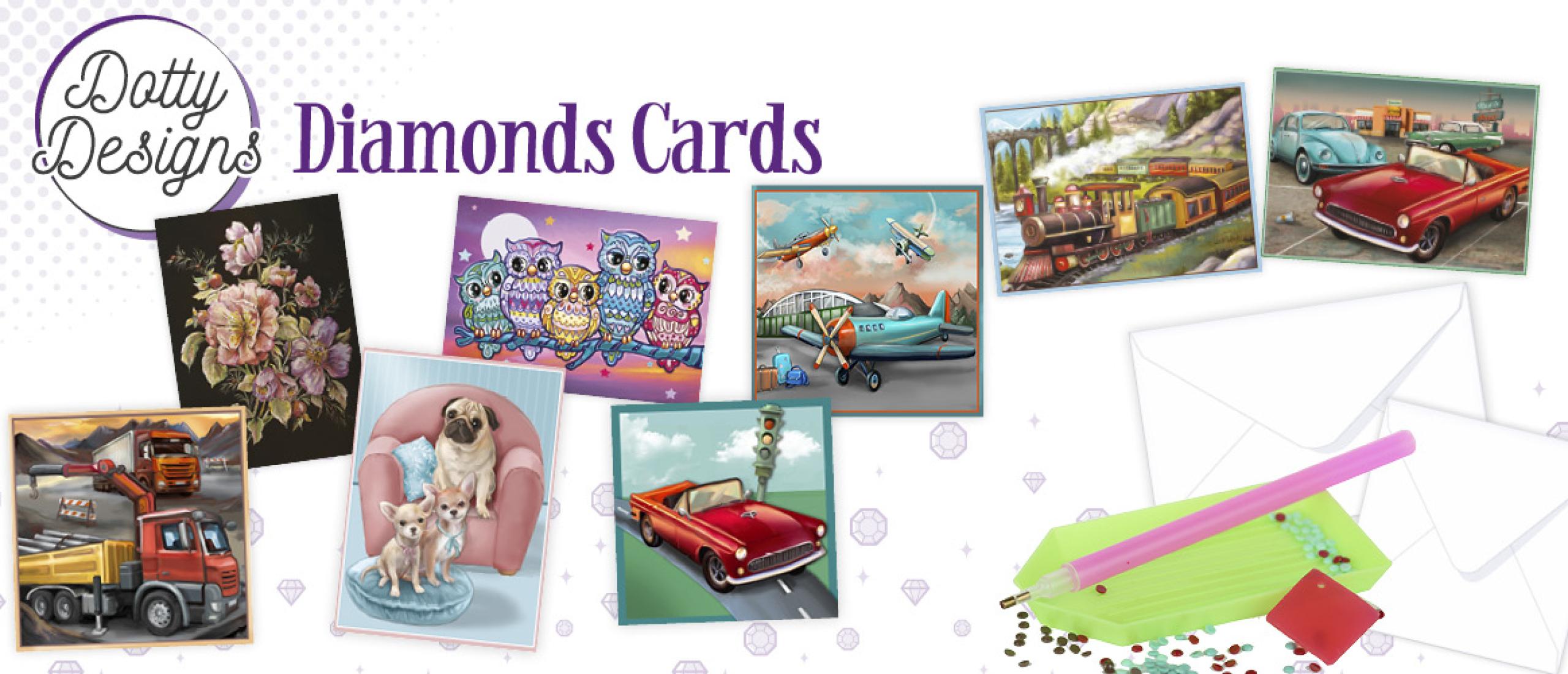 Dotty Designs Diamond Cards 25 t/m 32