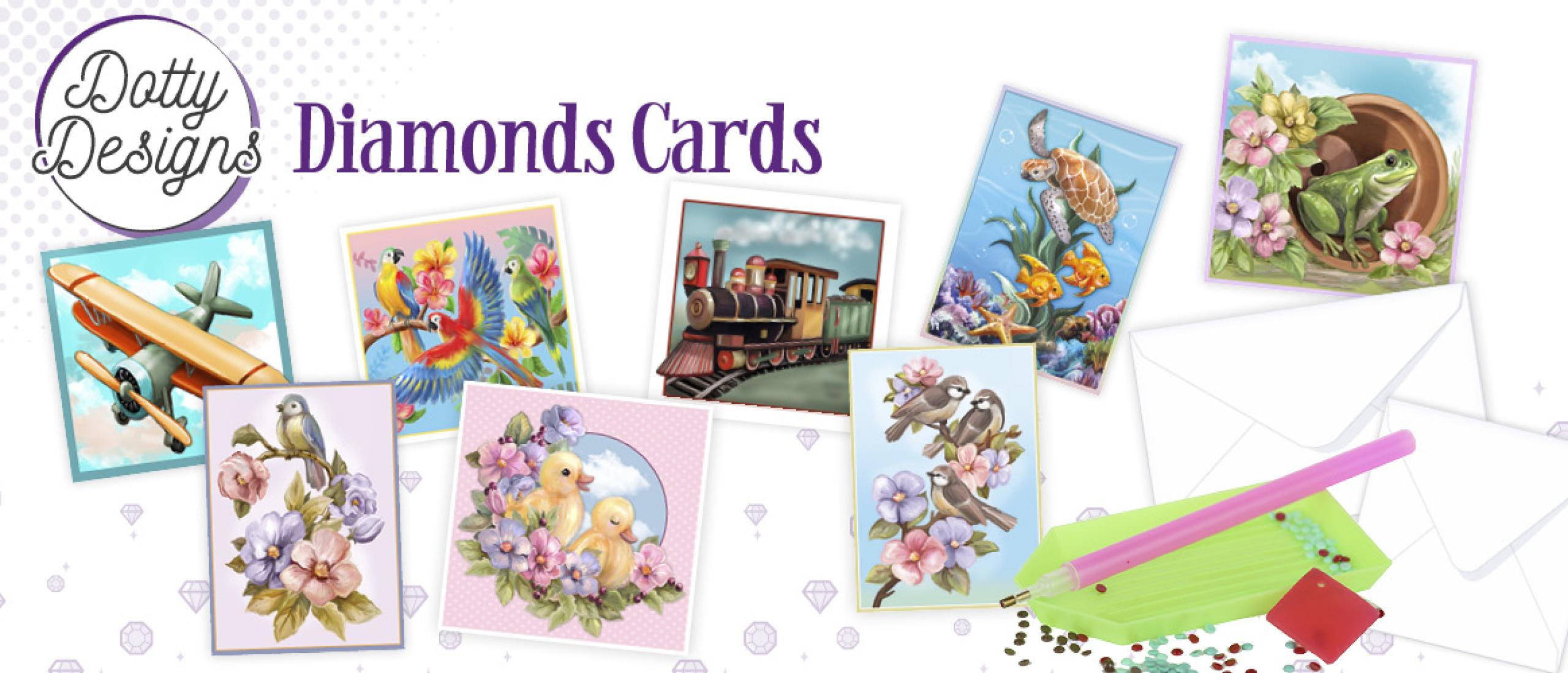 Dotty Designs Diamond Cards 10033-10040