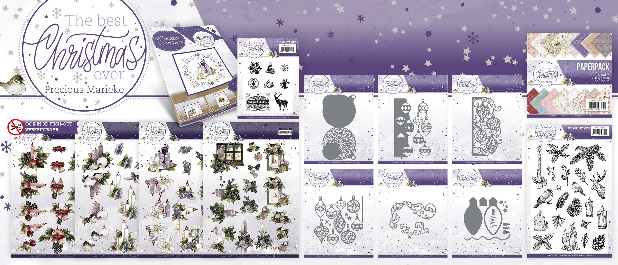 Collectie The Best Christmas Ever - Precious Marieke