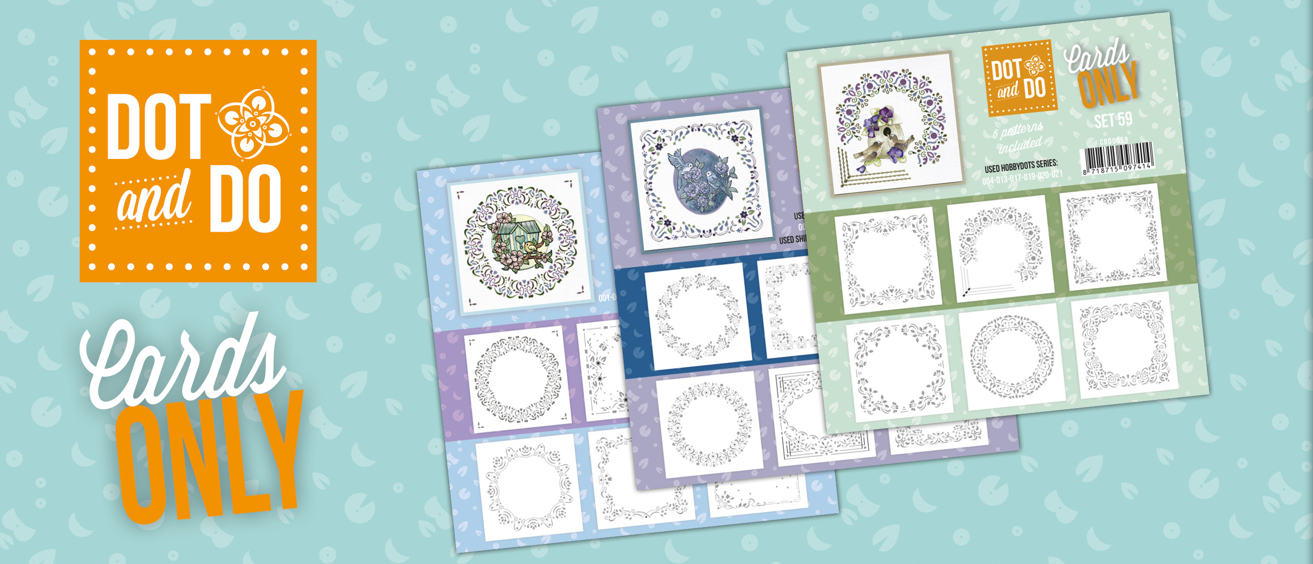 Dot and Do - Cards Only - Set 57 t/m 59 CODO057-CODO059