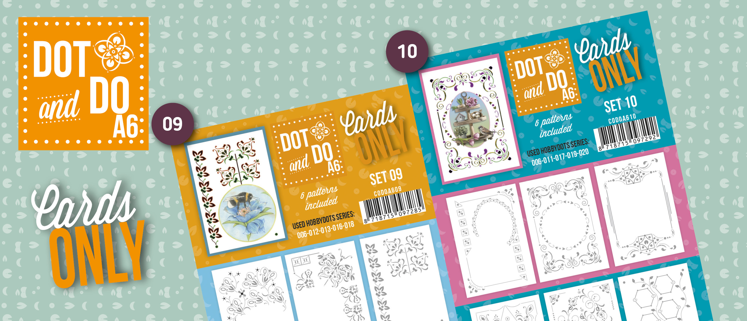 Dot and Do - Cards Only A6 - Set 09 en 10