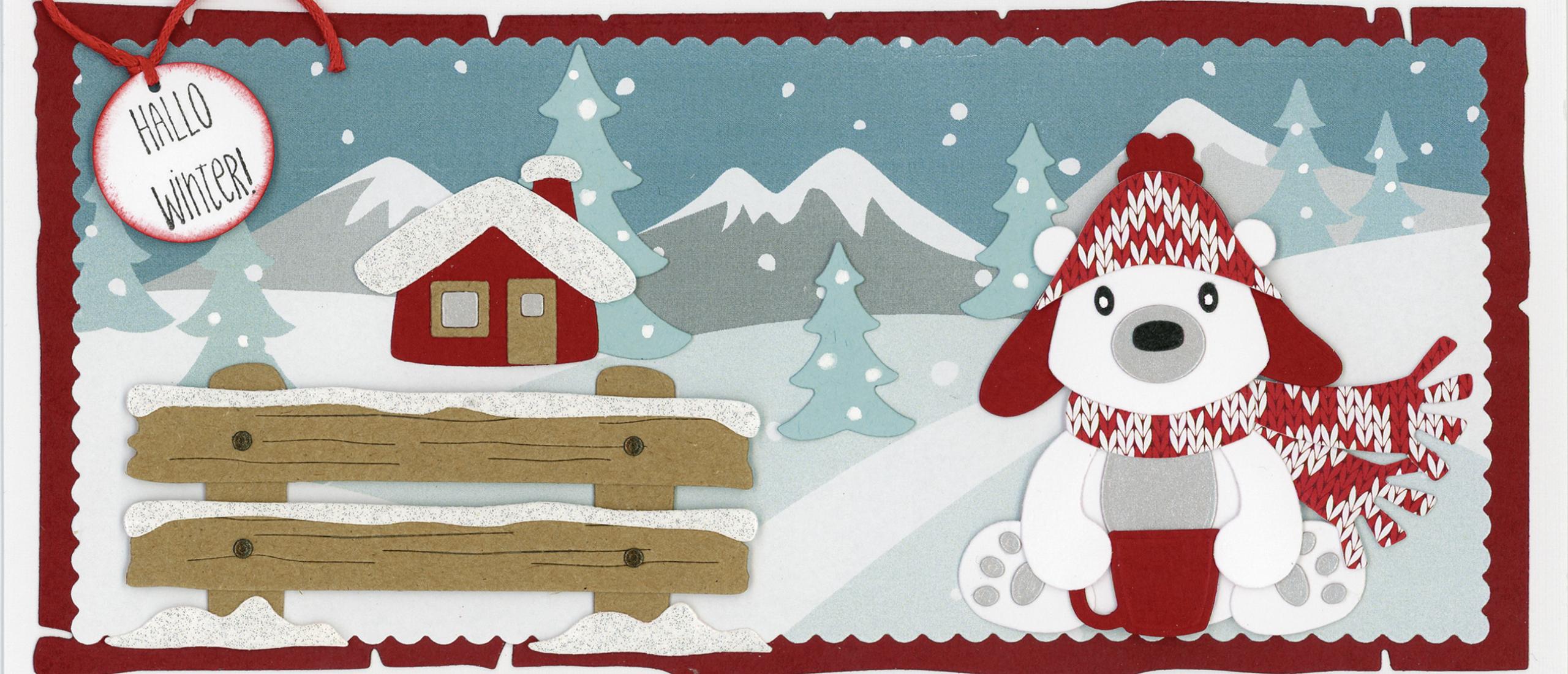 Hallo Winter - Marianne Design in Hobbyjournaal 199