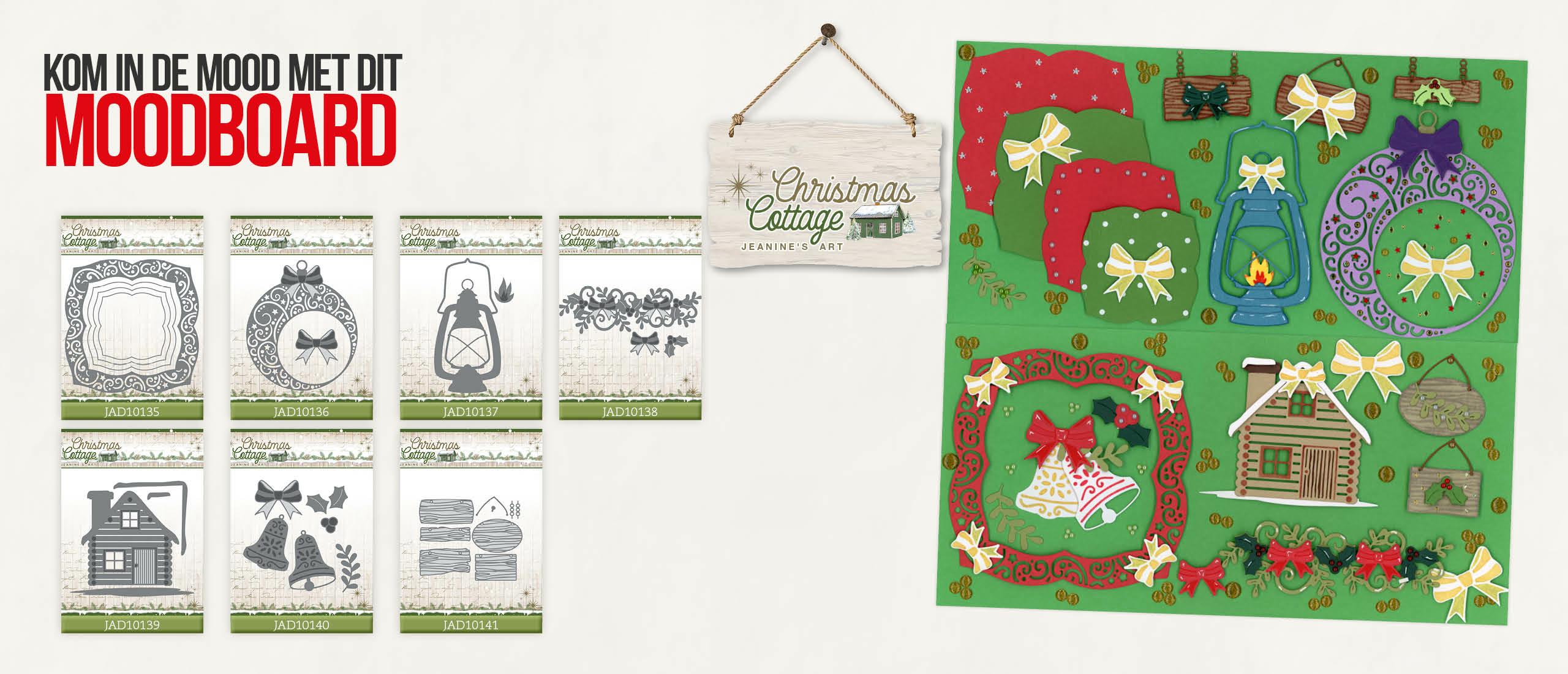 Metamorfosetijd: Moodboard Christmas Cottage - Jeanine's Art 🎄🏚