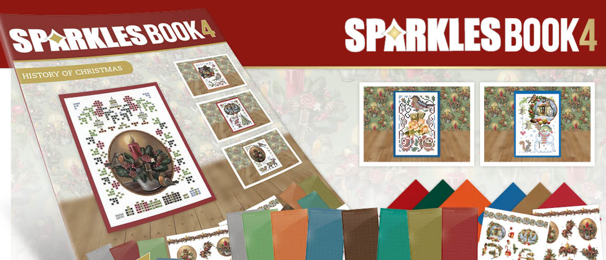 Sparkle Book A6 - 4 - Amy Design - History of Christmas