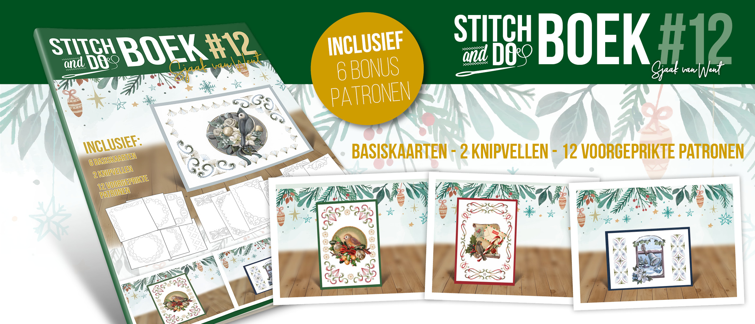 Stitch and do Book 12 Sjaak van Went