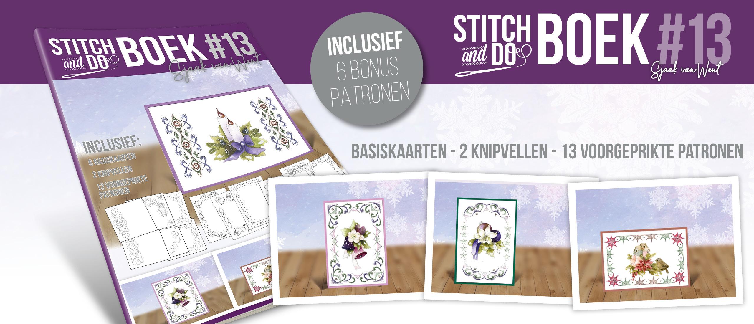 Stitch and Do Book 13 Sjaak van Went - STDOBB013