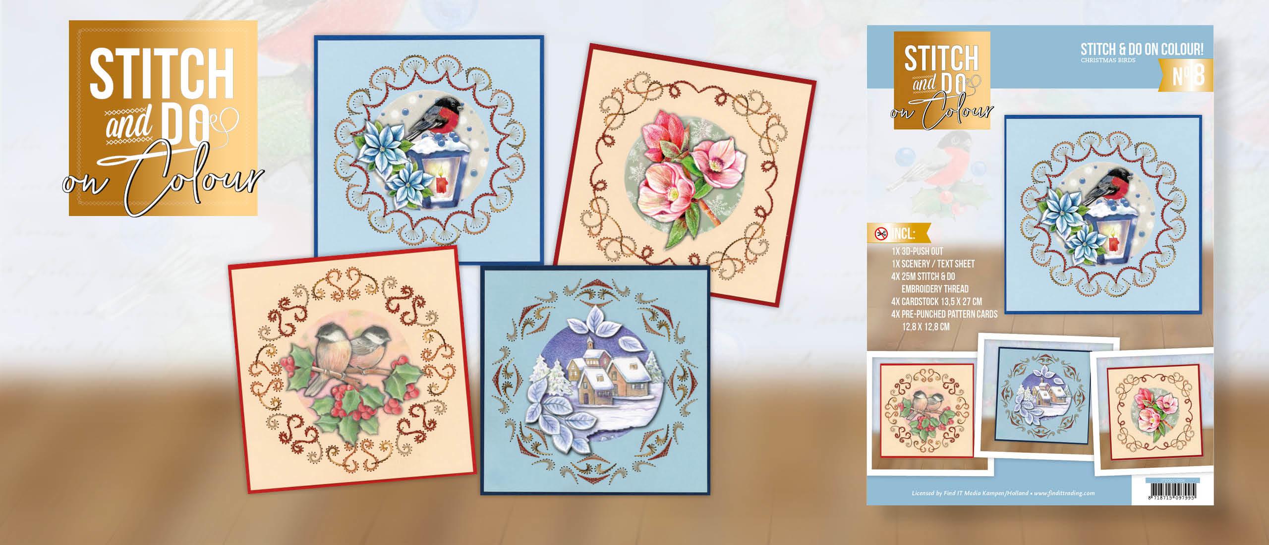🆕 Stitch and Do on Colour 008 - Christmas Birds 🧵🐦
