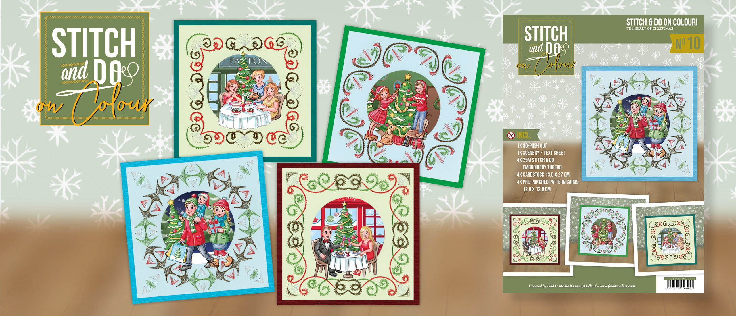 Stitch and Do on Colour 010 STDOOC10010 The Heart of Christmas
