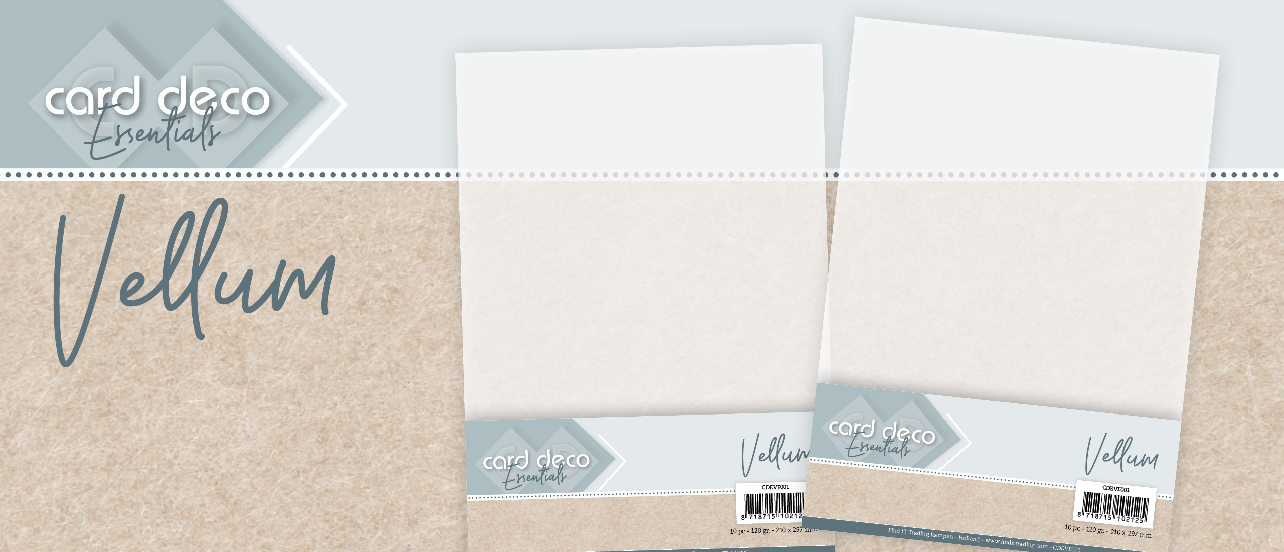 Vellum A4 van Card Deco Essentials