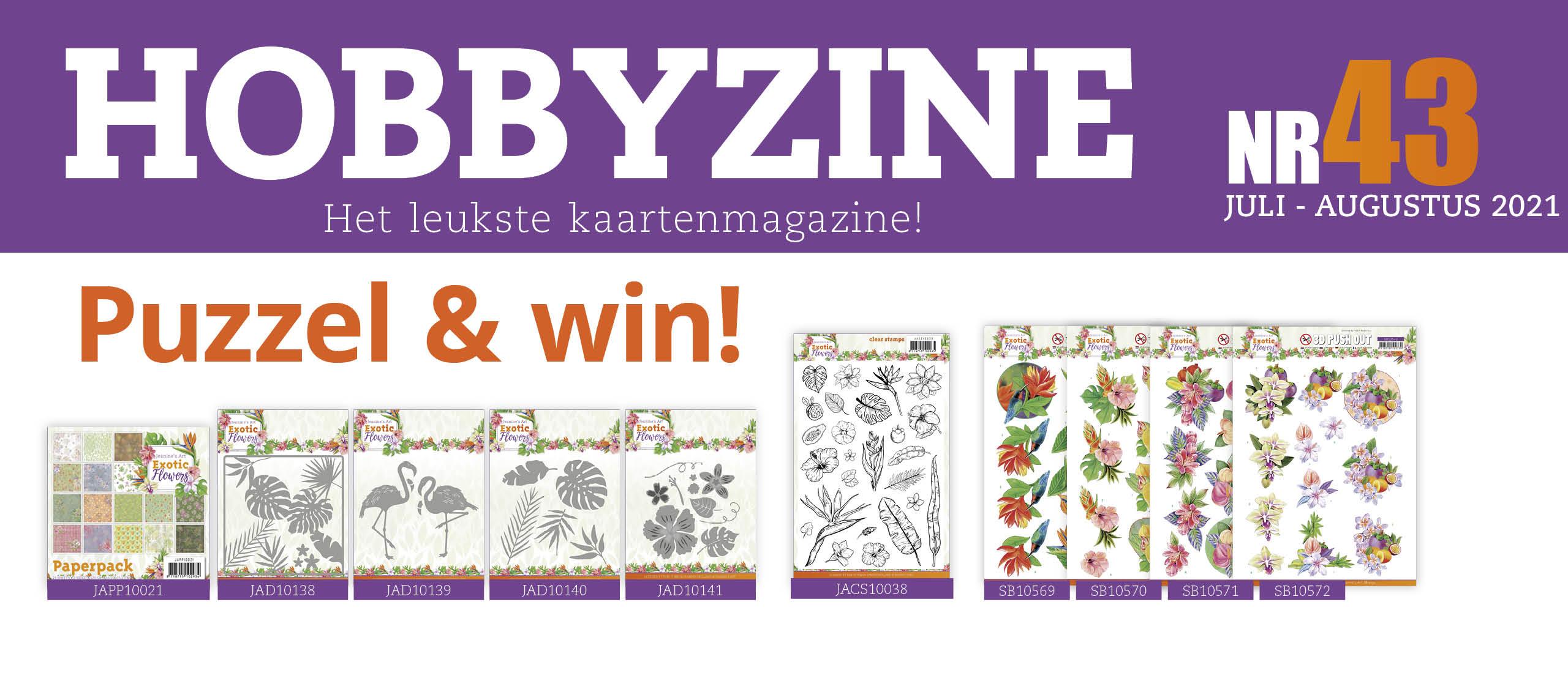 Puzzelprijzen winnen met Hobbyzine 43