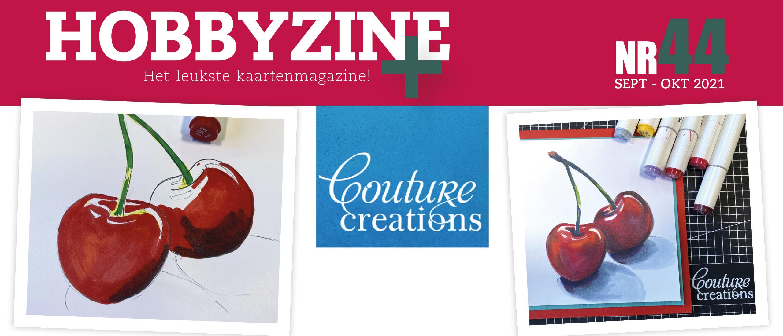 Creaties met Alcohol Markers van Couture Creations