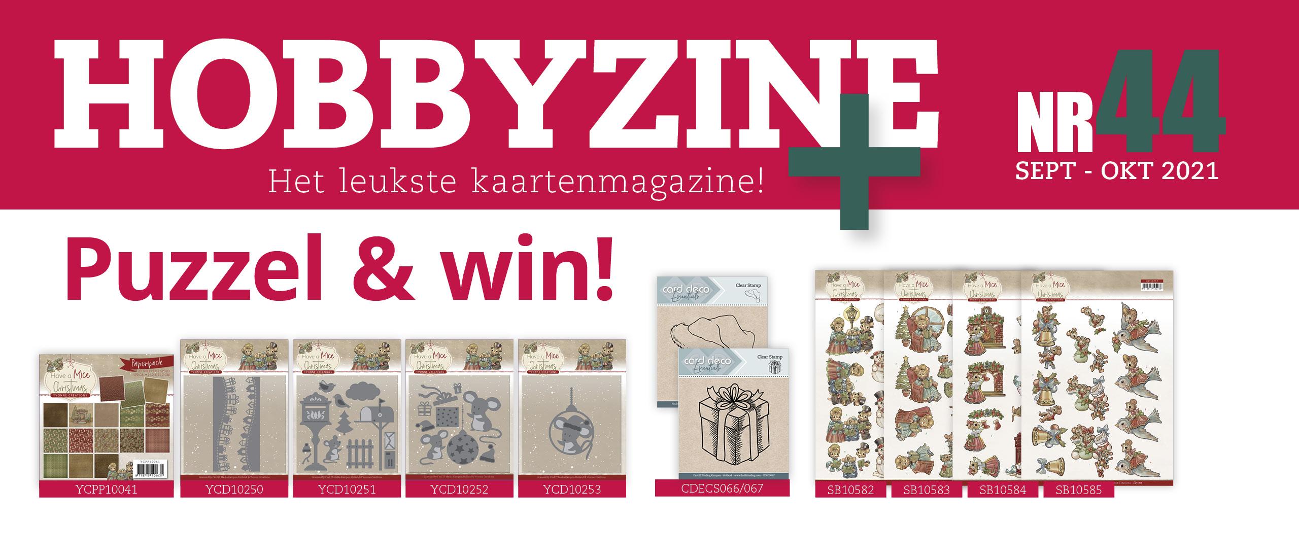 Puzzelprijzen winnen met Hobbyzine Plus #44