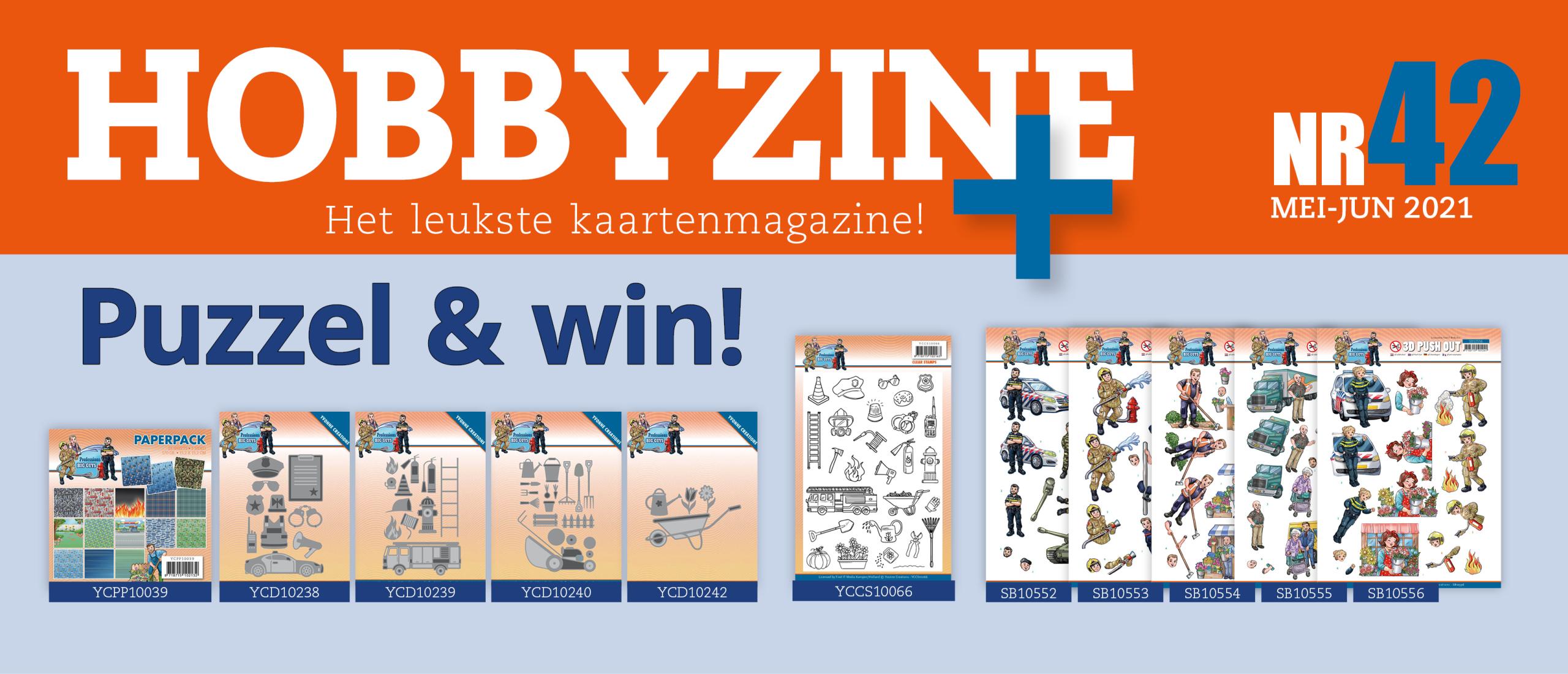 Puzzelprijzen winnen met Hobbyzine 42