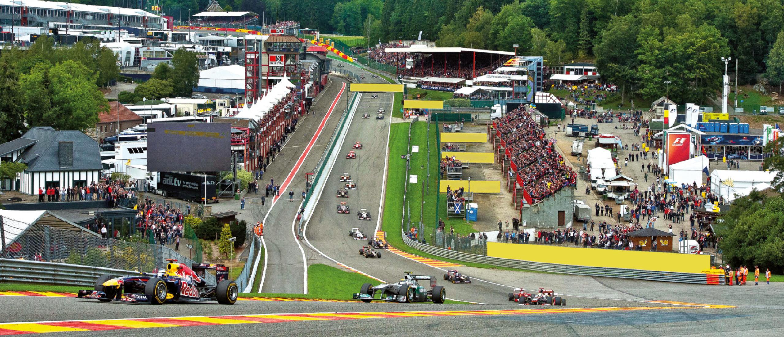 Het Circuit van Spa-Francorchamps bestaat honderd jaar!