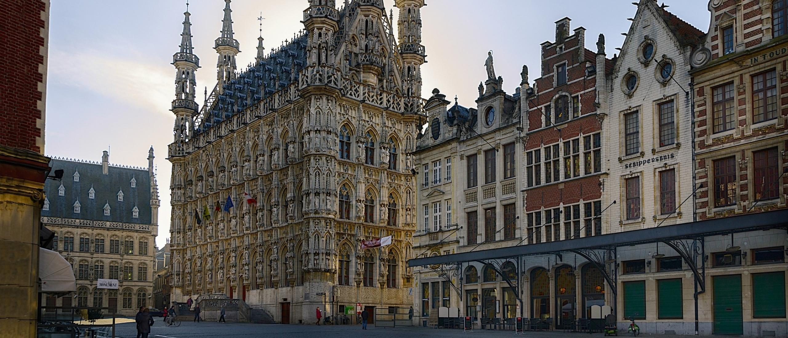 Leuven, pareltje in het midden van België