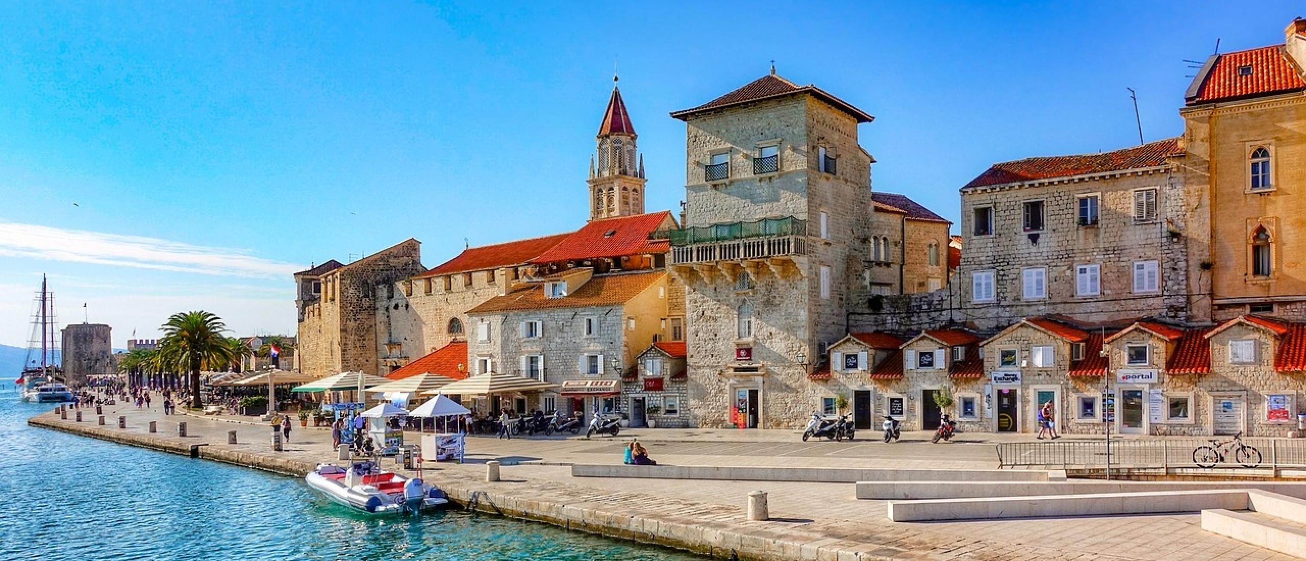 Vele culturele monumenten in Kroatisch Dalmatië