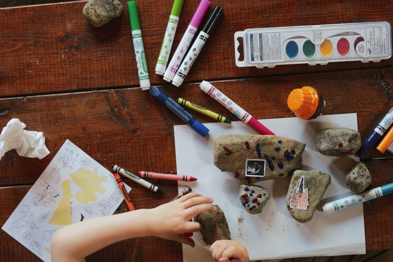 Creatieve kracht van een kind