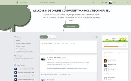 Online community Holistisch Herstel