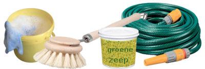 reinigen dakkapel reinigen groene zeep