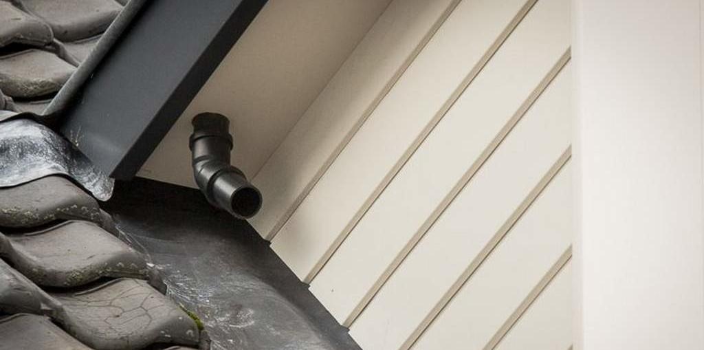 onderhoud dakkapel - afvoer hemelwater