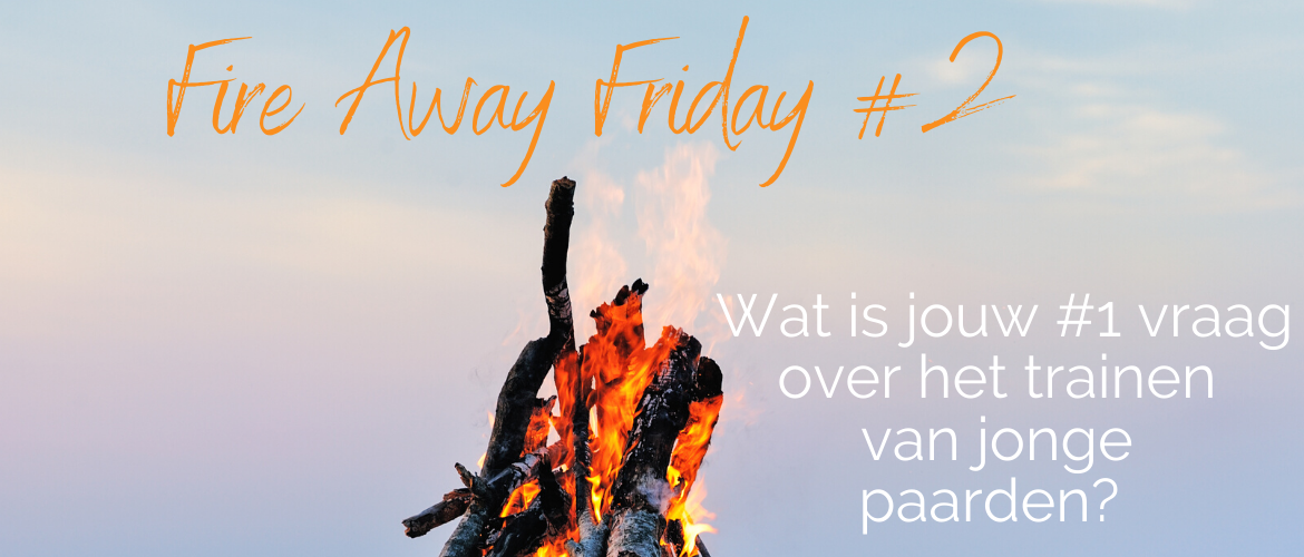 Fire Away Friday #2: jonge paarden trainen