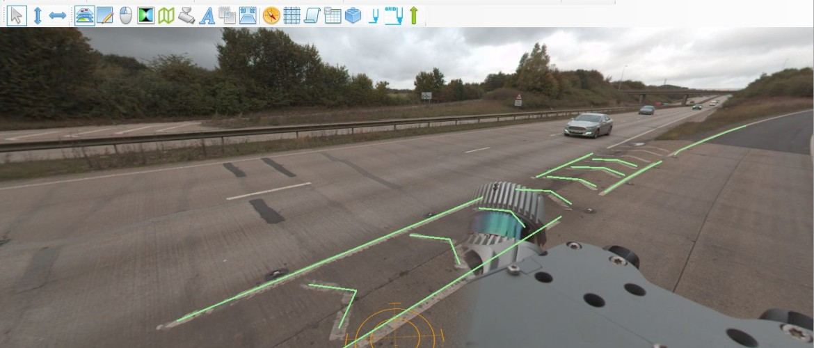 How to annotate and use Trimble MX9 imagery data in Horus software?
