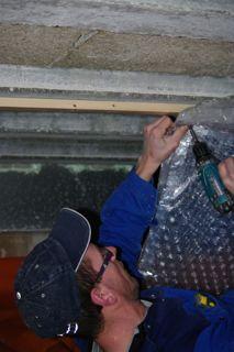 Prostelko onder de vloer bij kruipruimte isolatie