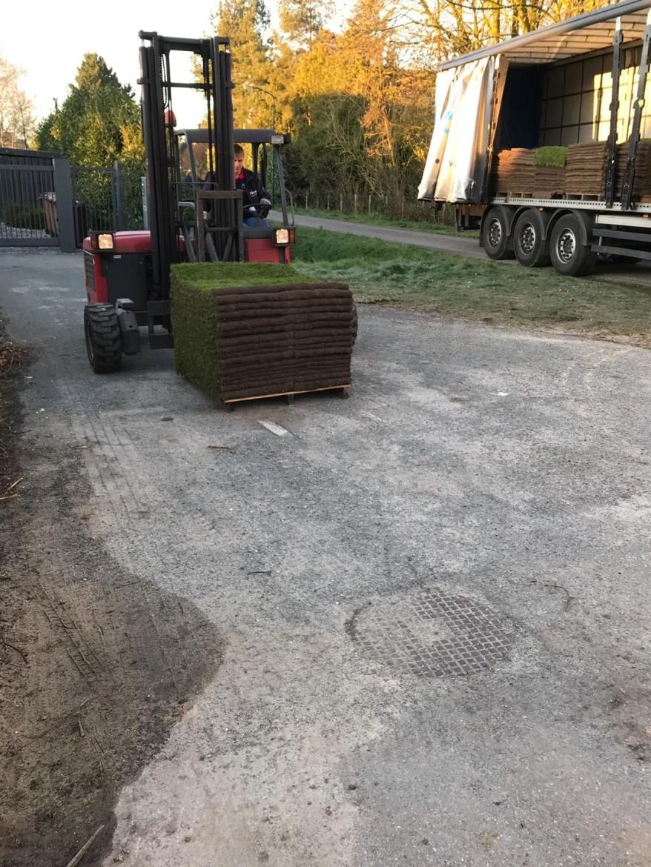 aanleg graszoden in rotterdam oost