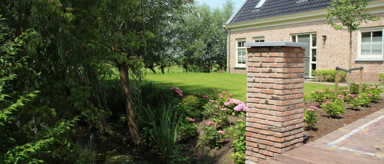 Ontwerp en aanleg van landelijke tuin