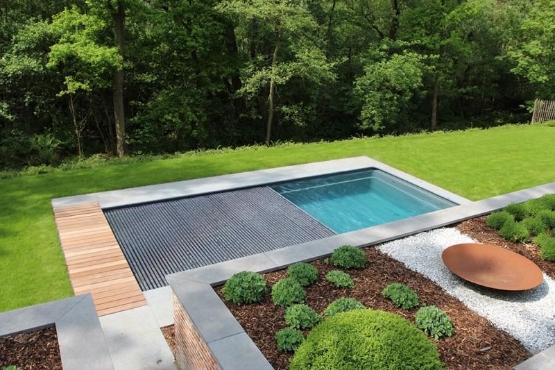 ontwerp en aanleg overloopzwembad