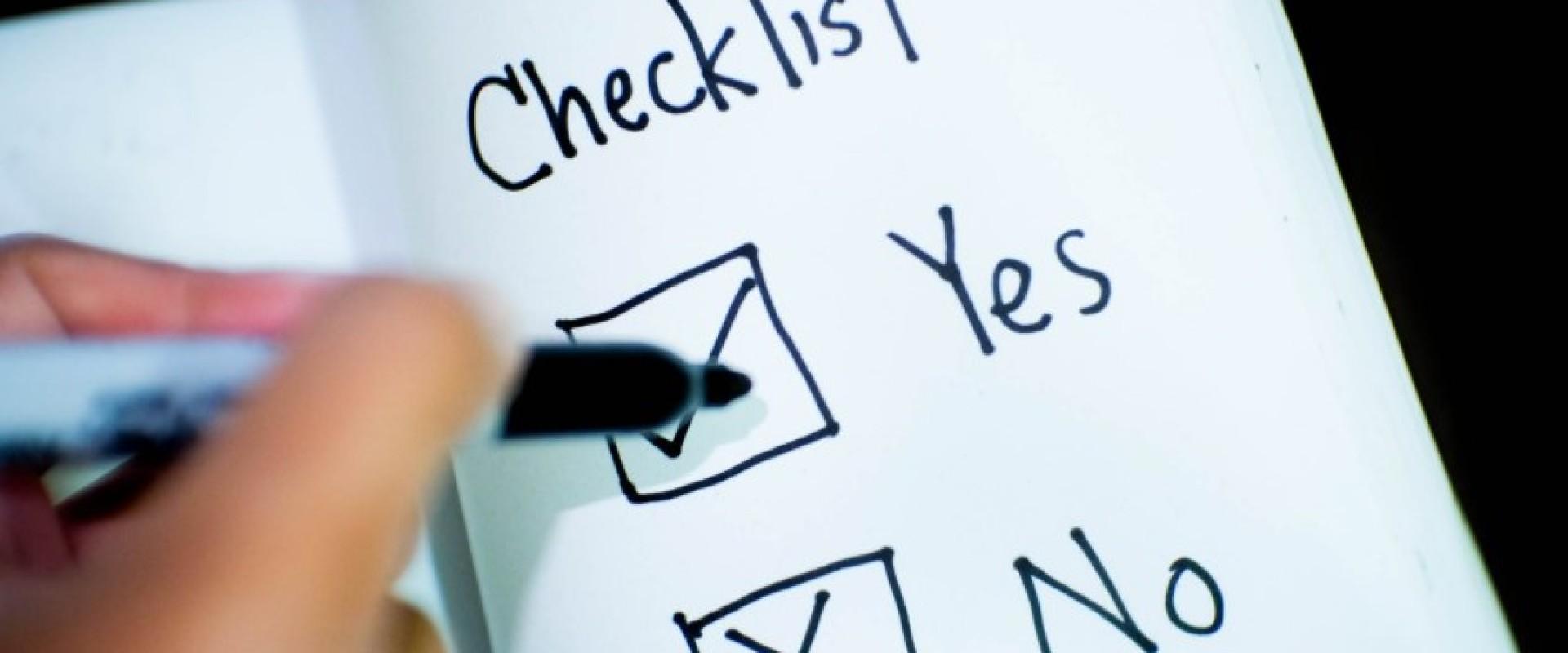 Checklist huis verhuren