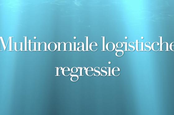 In deze video leer je hoe je in SPSS een multinomiale logistische regressieanalyse uitvoert