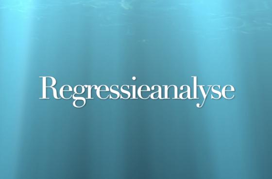 Regressieanalyse in SPSS
