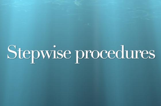In deze video leer je hoe je in SPSS stepwise procedures toepast
