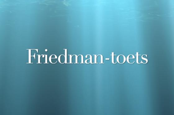 Friedman toets in SPSS