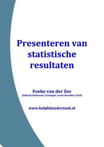 Dit moet je weten over het presenteren van statistische resultaten