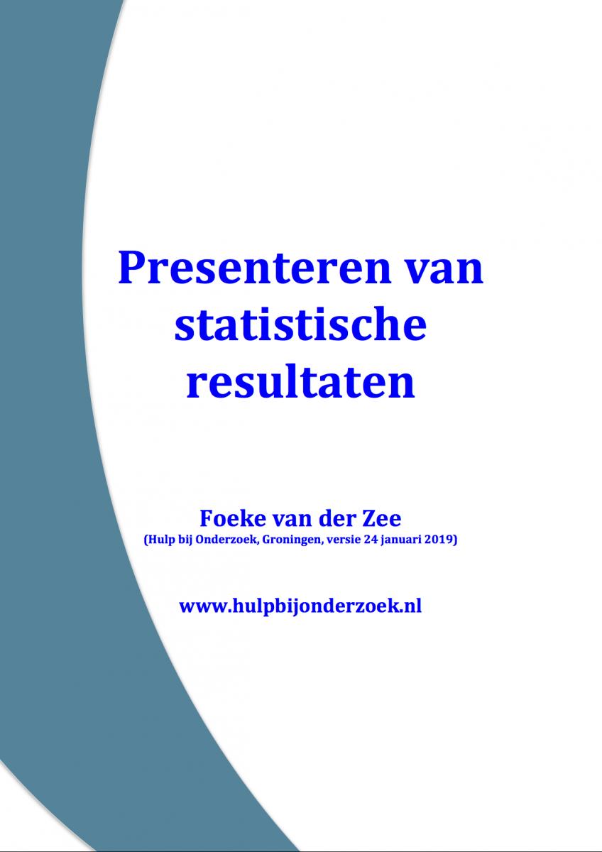 Cursus Toegepaste Statistiek
