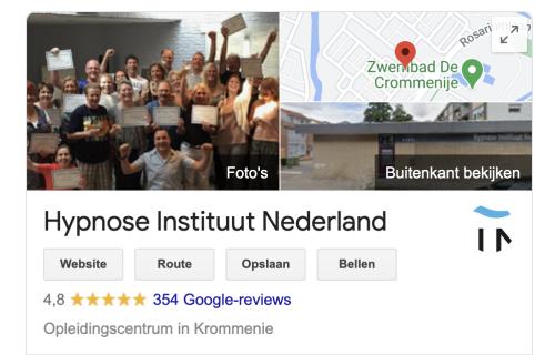 ervaringen hypnose instituut nederland