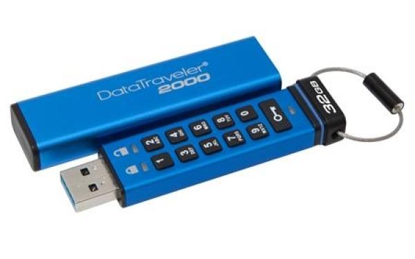 USB met pin code beveiliging