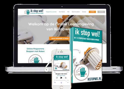 Stoppen met roken online programma | Ikstopwel.nl
