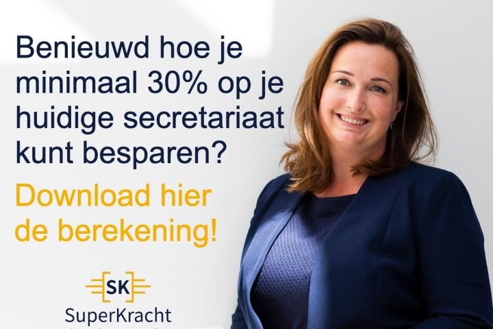 Gratis download 'Besparen op je secretariaat'